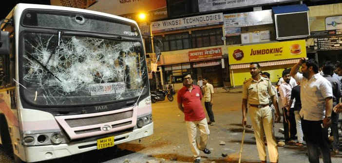Image result for indian people destroying public property