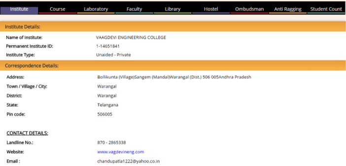 Know your college portal - 2