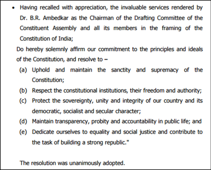 follow the proceedings of Parliament_principles of constitution