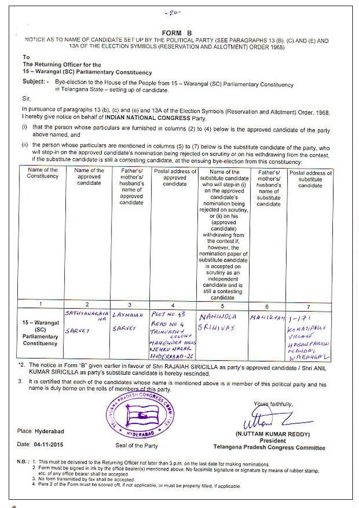 B form for elections_factly image