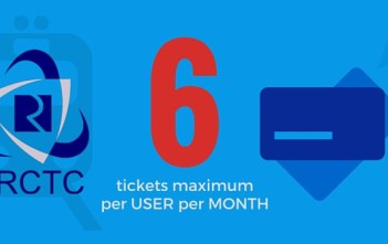 IRCTC-Maximum 6 tickets featured image factly.in