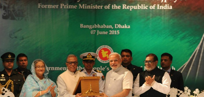 Indian VIPs received the most gifts from Bangladesh & China between 2013 & 2015