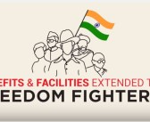 What are the Benefits & Facilities extended to Freedom Fighters?