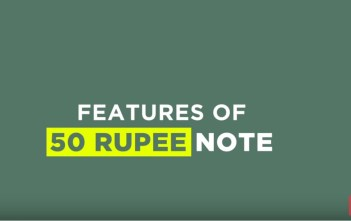 50 Rupee Notes features_factly