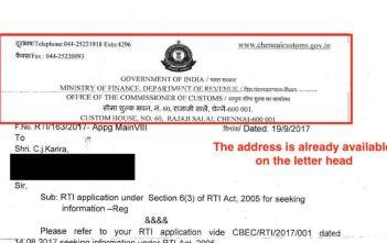 RTI Funny response_Karira RTI_factly