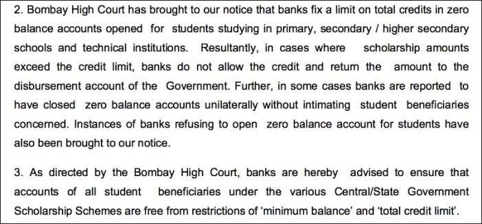 Account Minimum Balance penalty_2