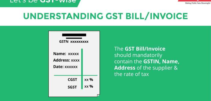 Let's be GST-Wise - Understanding the GST Bill/Invoice_featured image