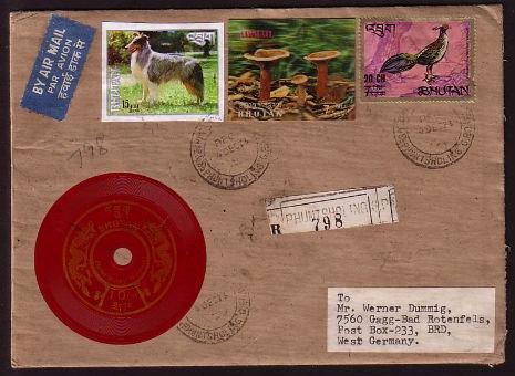 Vinyl stamps