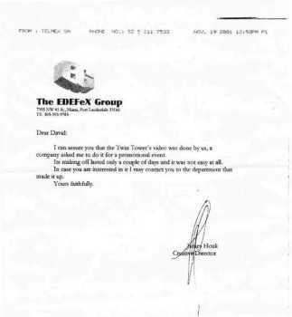 El falso fax entregado a modo de prueba por Sanz.