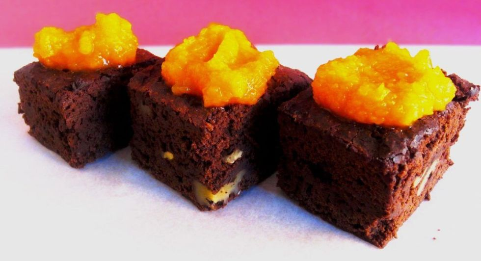 brownie-con-calabaza
