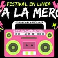 "Festival de rock online ""Viva la Merch!"""