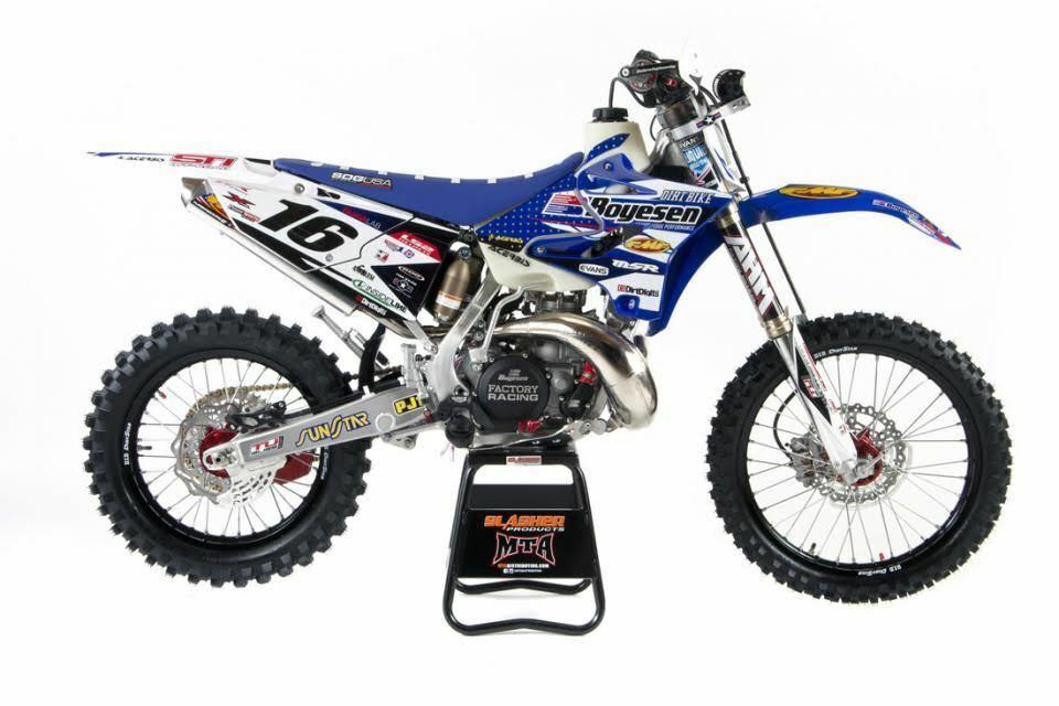 Boyeson Blue Yamaha Graphics Kit