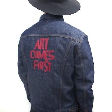 「art comes first デニムジャケット」の画像検索結果