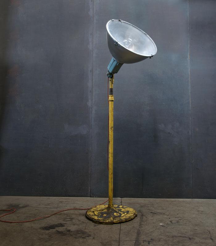 Vintage Industrial Satellite Floor Lamp Factory 20