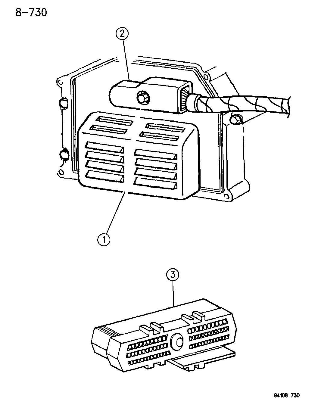 Chrysler Lebaron Gtc Single Board Engine Controllers