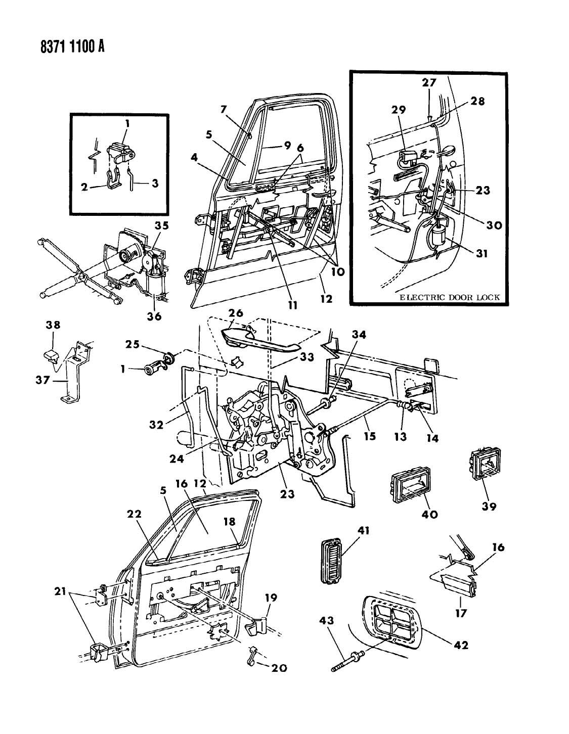 Dodge Ram 150 250 350 Door Front D Body