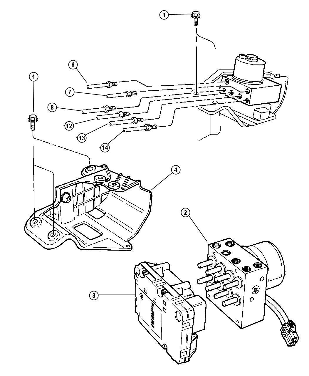 Dodge Caravan Anti Lock Brake Control