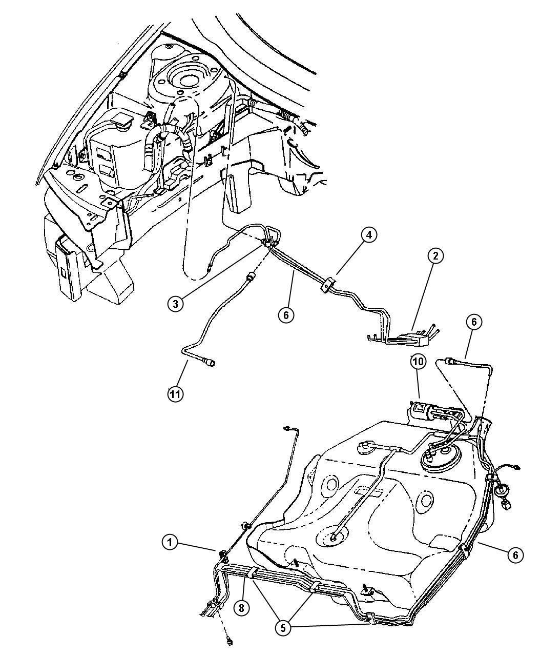 Chrysler Sebring Jx Convertible 2 5l V6 Sohc 24v Smpi