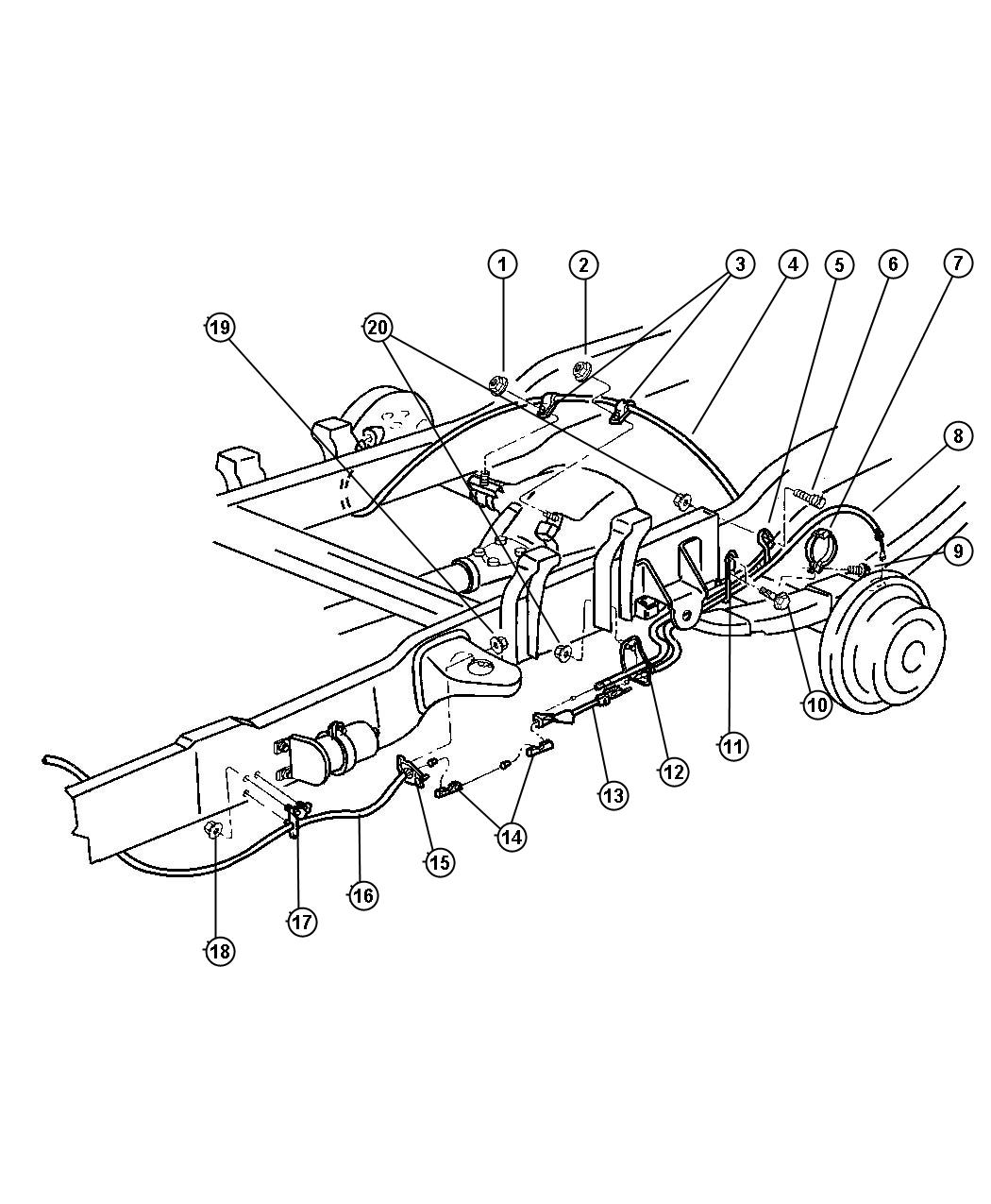 Dodge Ram Brake Line Diagram Sketch Coloring Page