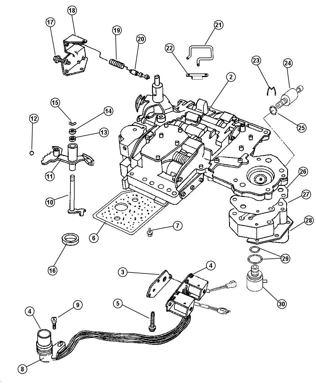 Dodge Durango R T 5 9l V8 Mpi 4 Spd Automatic 46re