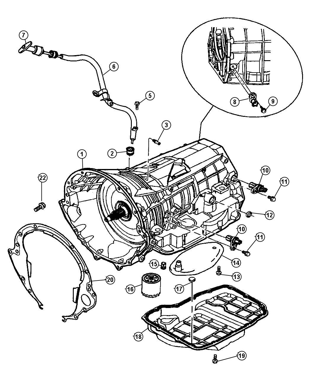Dodge Dakota Case Amp Related Parts 45rfe Dg4
