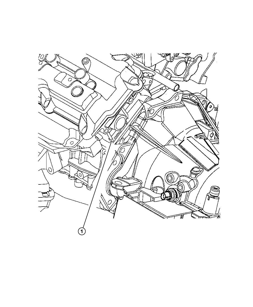 Chrysler Concorde I D Location 3 5l Engine