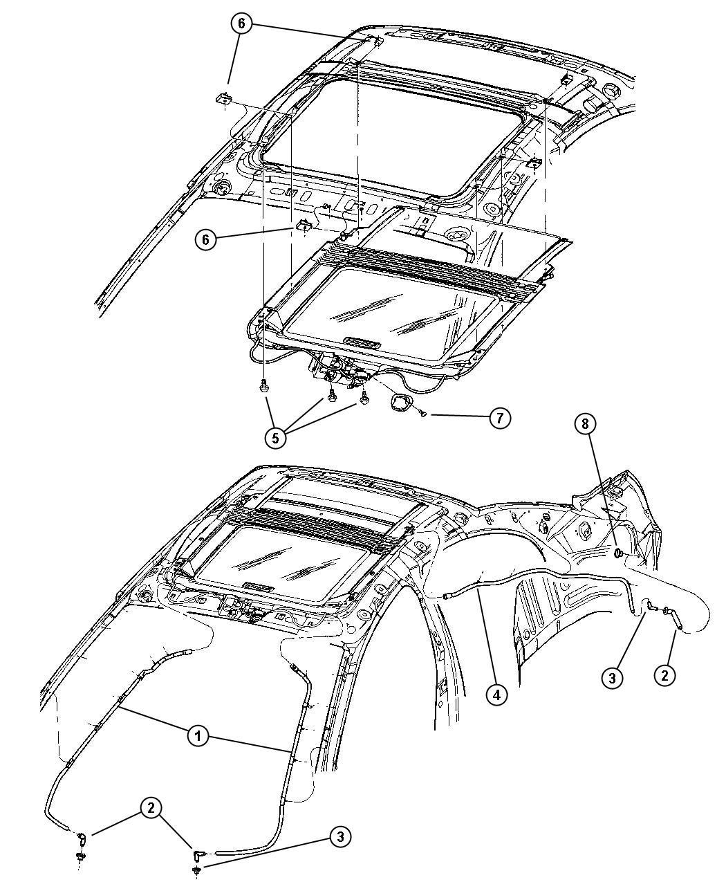 Dodge Stratus Rear Suspension