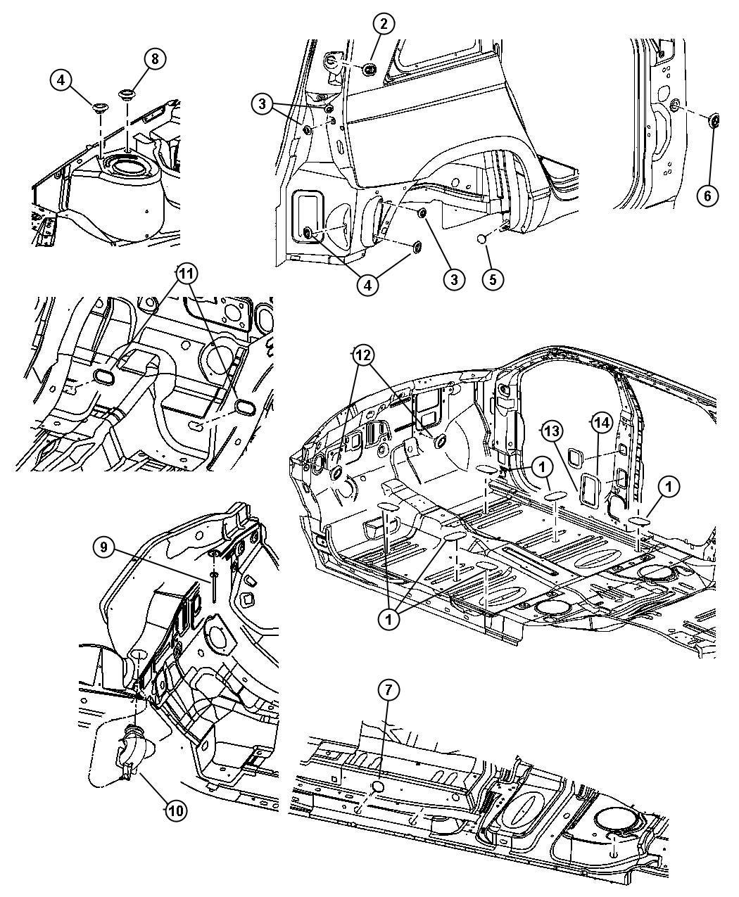 Chrysler Pacifica Awd 3 5l V6 24v Mpi 4 Spd Automatic Plugs