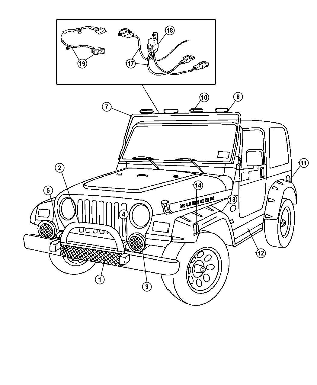M Jeep Drawing Coloring Pages