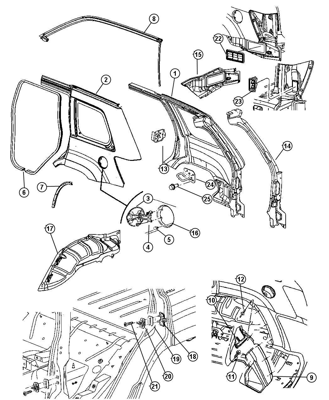Jeep Grand Cherokee Str8 6 1l Srt Hemi Smpi V8 5 Speed