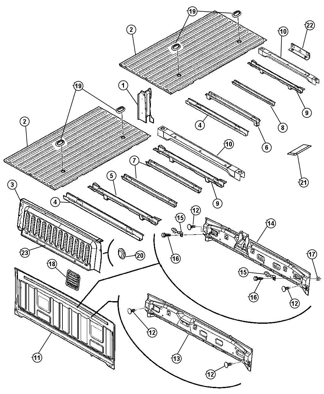 dodge ram 4x4 5 7l hemi multi displacement 5 spd automatic 5 45rfe floor  box and