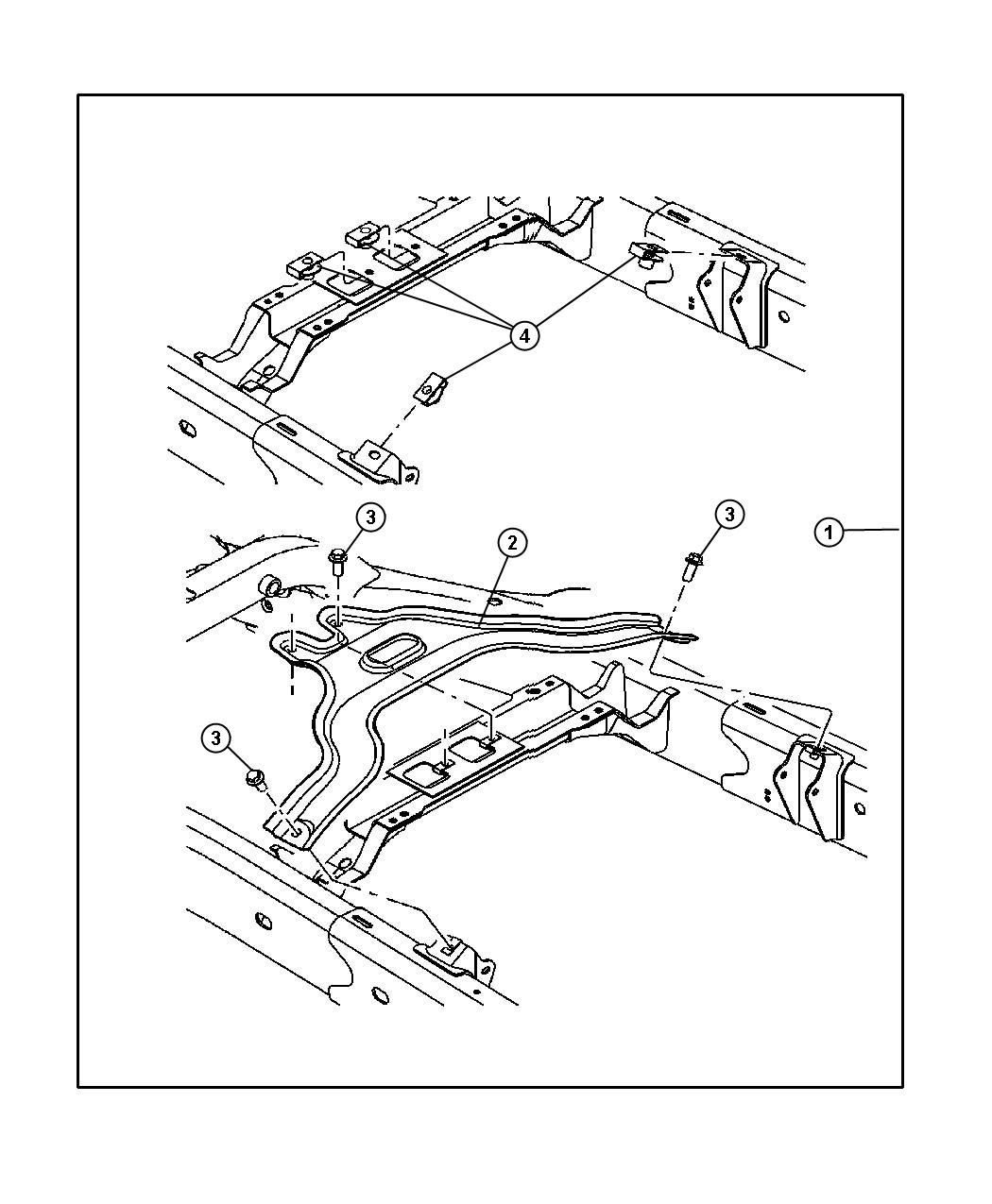 Dodge Durango Skid Plate Kit