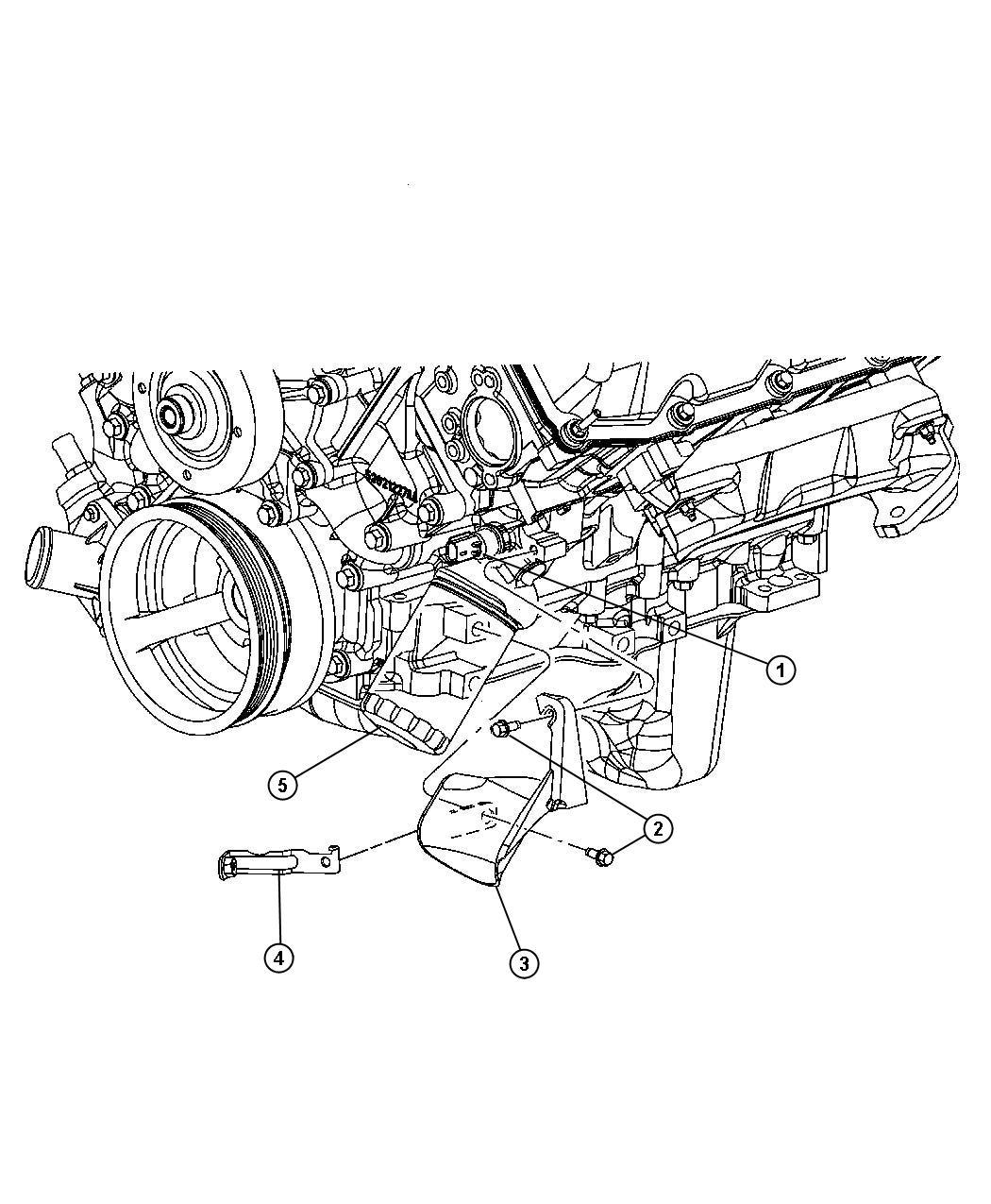 Jeep Grand Cherokee Laredo 4x4 4 7l V8 Ffv 5 Spd Automatic 545rfe Oil Filter And Splash Guard