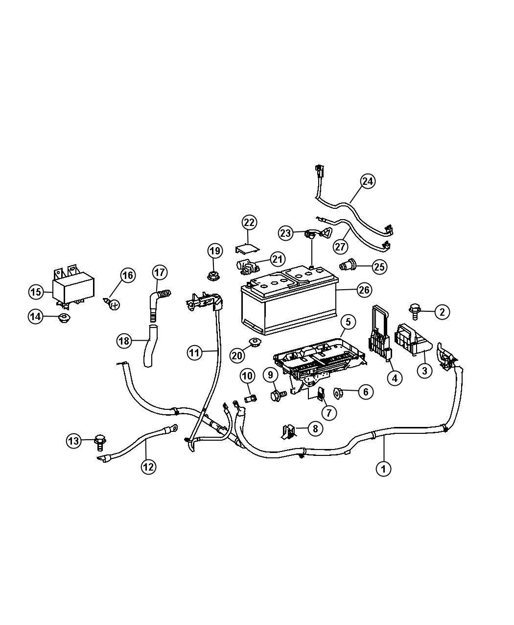 Dodge Sprinter Auxilary Battery Tray