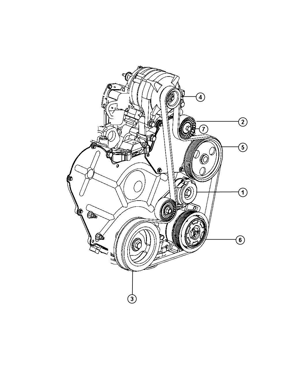 Dodge Journey R T Fwd 3 5l High Output V6 24v Mpi 6