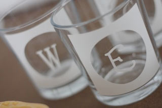 Etched Family Glasses2 Etched Family Glasses