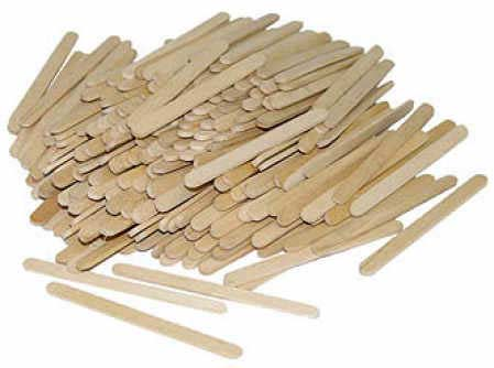 Unfinished Wood Popsicle Sticks Popsicle Sticks And Fan