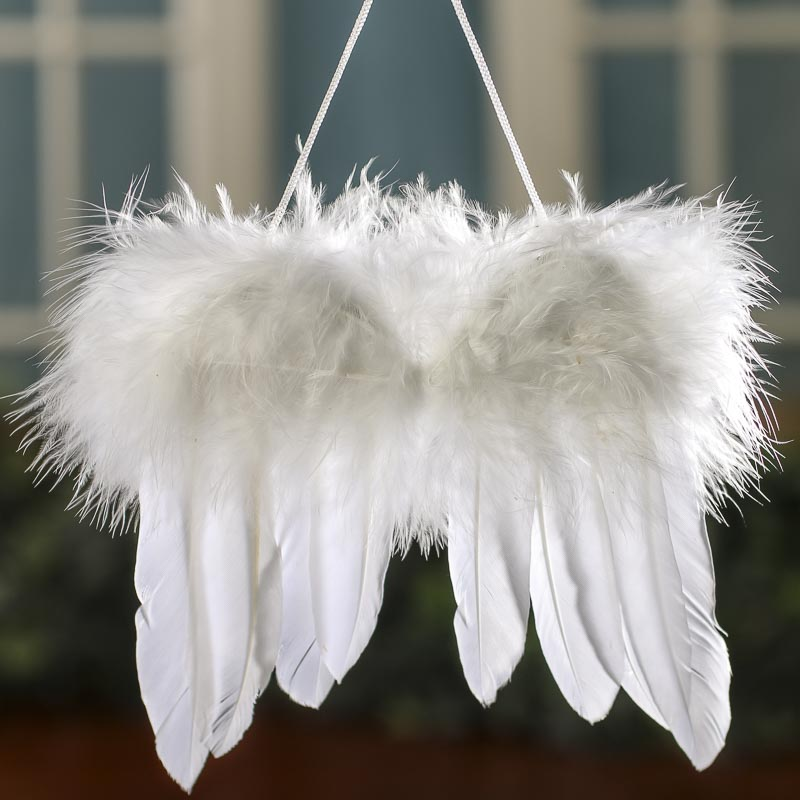 White Feathered Angel Wings Angel Wings Doll Making