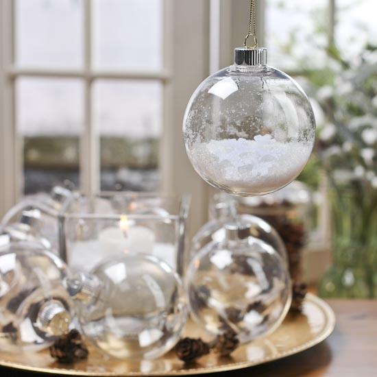 Clear Plastic Light Bulb Ornaments