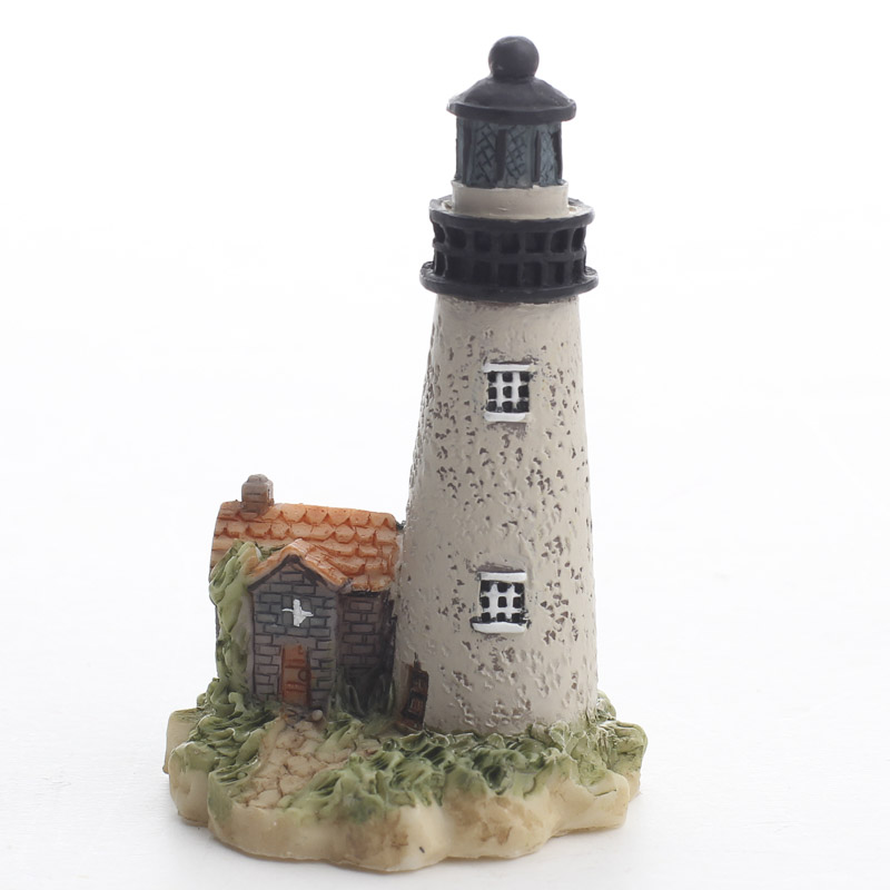 Miniature Lighthouse Fairy Garden Supplies Dollhouse Miniatures Doll Supplies Craft Supplies