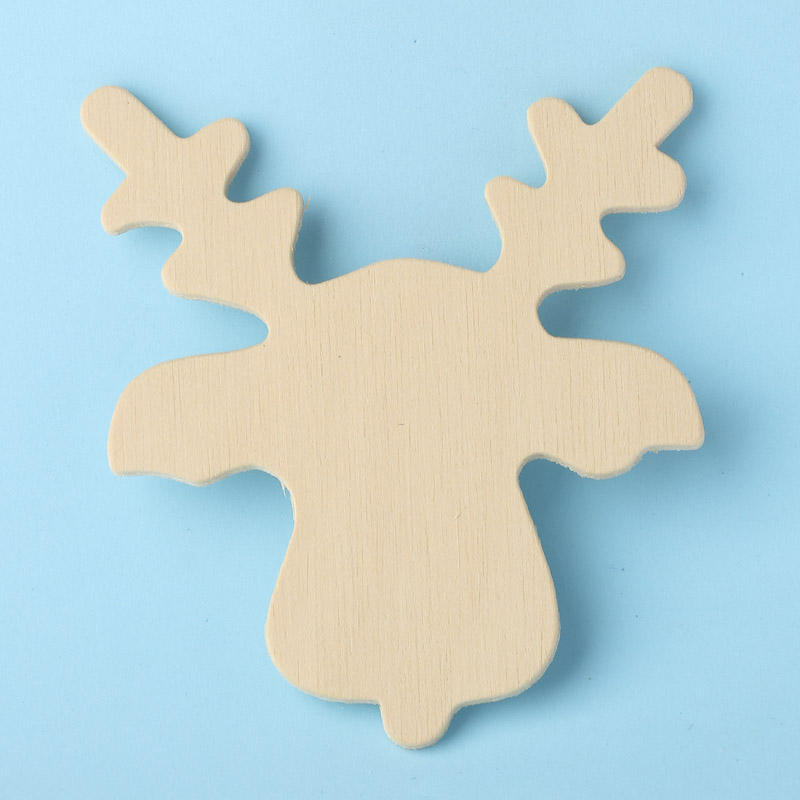 unfinished wood reindeer cutout wood cutouts unfinished wood