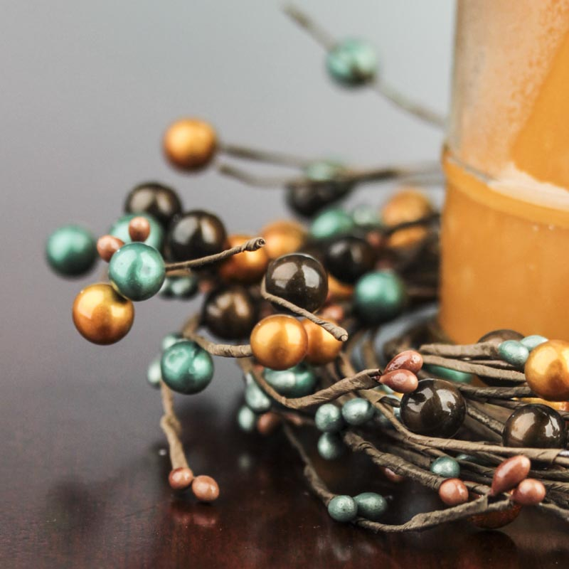 Lustrous Pip Berry Candle Ring Candles And Accessories