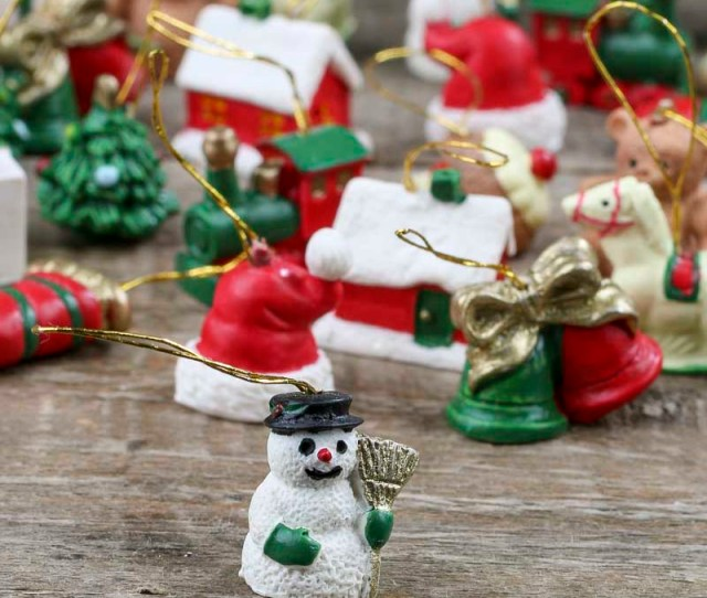 Item Orn These Miniature Christmas Ornaments