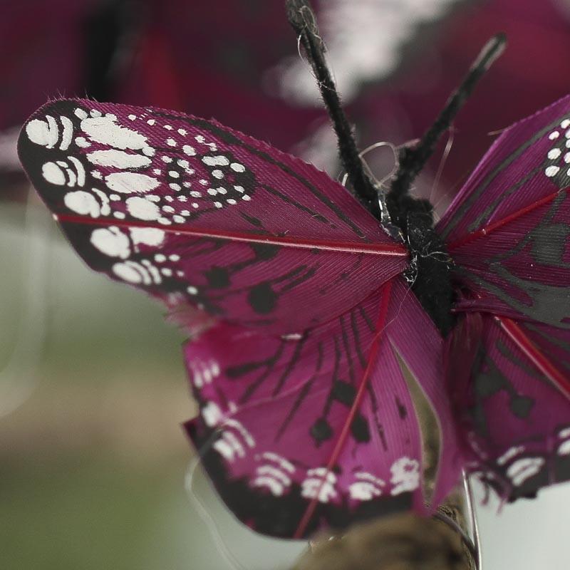 Plum Artificial Monarch Butterflies Birds Amp Butterflies