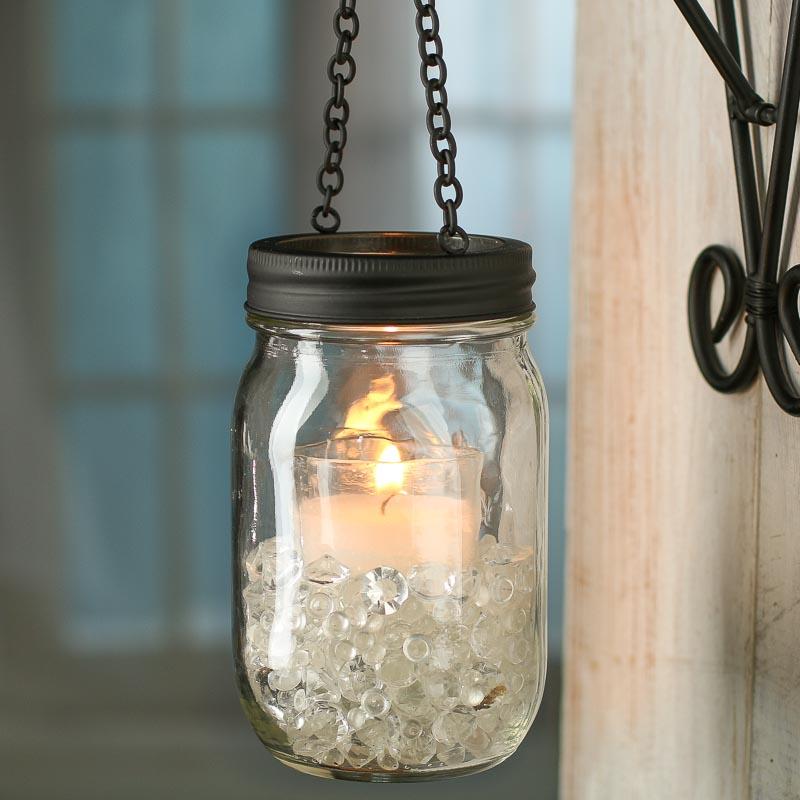 Black Candle Lantern Mason Jar Lid Jar Lids Basic