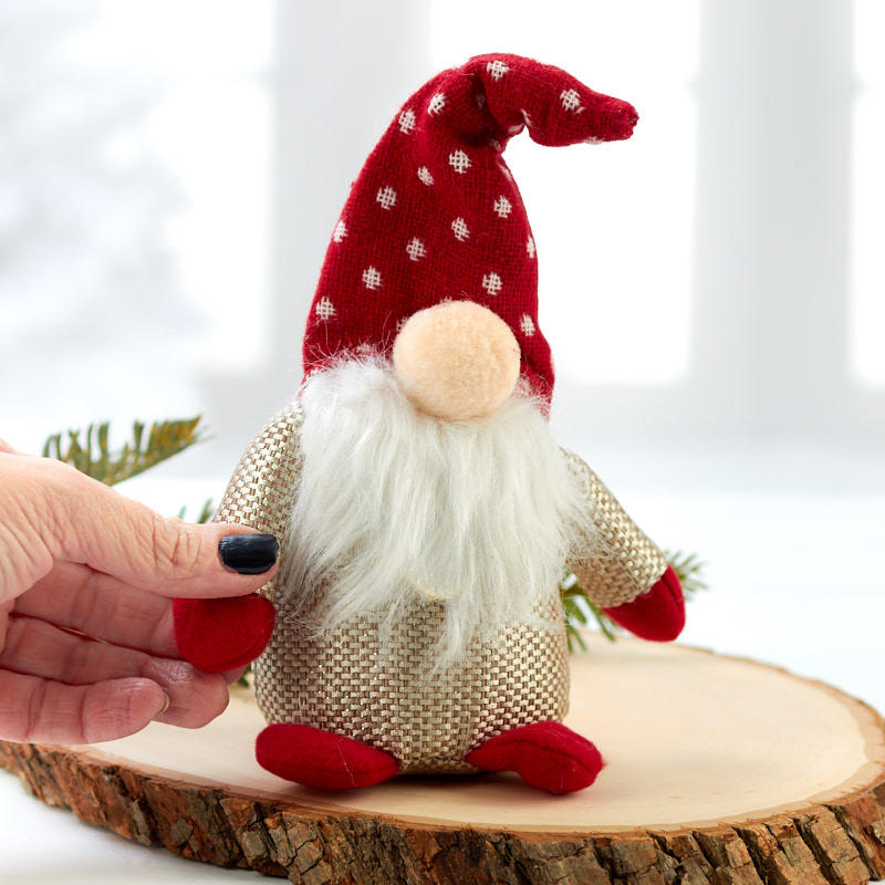 Roly Poly Tomte Christmas Gnome Table Decor Christmas