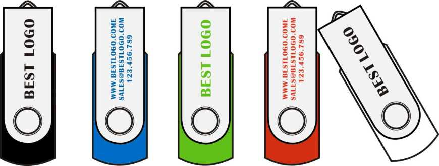 custom flash drives swivel custom logo usb