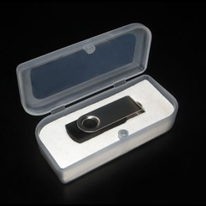 USB flash drive Package- Plastic Box