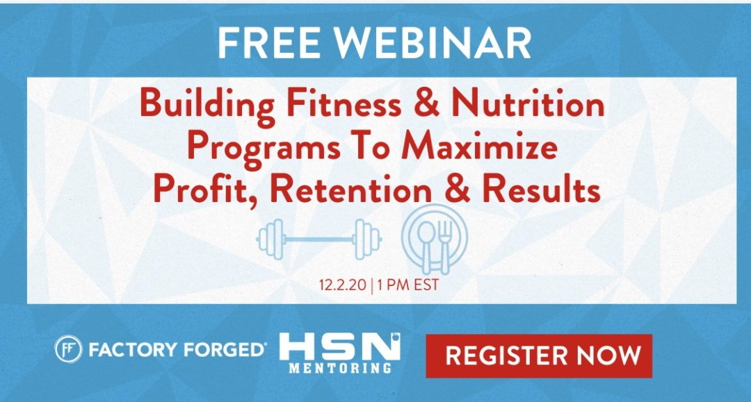 Building Fitness & Nutrition Programs To Maximize Profit, Retention, & Results