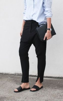 factory of fashion - on the street - minimal oufit